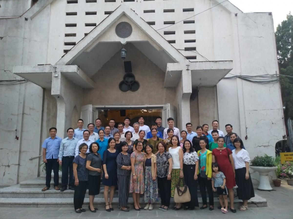 Huấn luyện lớp Soạn & dạy nâng cao Trường Chúa Nhật tại Hà Nội